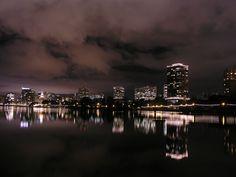 Lake Merritt at Night - Oakland, CA