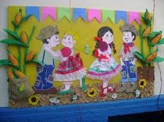 Resultado de imagem para outros paineis festa junina