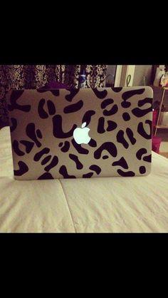 Leopard sticker for MacBook Pro