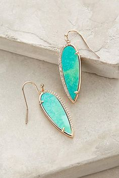 Pavewing Drops - anthropologie.com