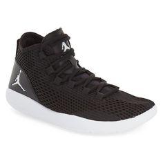 Men's Nike 'Jordan Reveal' High Top Sneaker ($70) ❤ liked on Polyvore featuring men's fashion, men's shoes, men's sneakers, mens hi top shoes, nike mens shoes, mens high tops, mens high top shoes and mens shoes