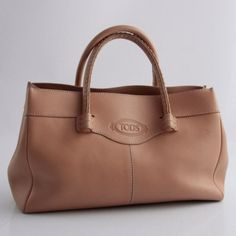 Tods cuir gold