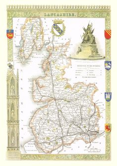 Railways Moule C1840 Old Buy One Give One Lincolnshire Antique Hand-coloured County Map