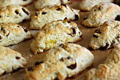 Vegan coconut milk scones. Must try these -- or some variation with butter, since I'm not vegan or dairy-free.