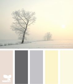 winter tints Color Palette by Design Seeds Design Seeds, Paint Schemes, Colour Schemes, Color Combos, Palette Pastel, Color Palate, Colour Board, Color Swatches, Exterior Paint