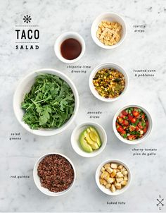 Quinoa Taco Salad with Chipotle Lime Dressing