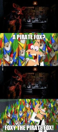 Foxy and Doofenshmirtz