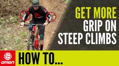 How To Get Traction On Steep Climbs | MTB Skills - VIDEO - http://mountain-bike-review.net/mountain-bike-reviews/how-to-get-traction-on-steep-climbs-mtb-skills-video/ #mountainbike #mountain biking
