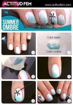 Manicure Summer Ombre