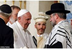 Papa Francesco in Sinagoga: pace, riconciliazione, perdono, difesa della vita
