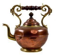 Old tea pots | Antique Copper Teapot