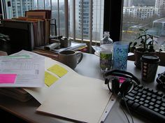 A day in my life at work. Getting geared up for 365! Practice photo: T-28.  Also could fit in the category: what's on my desk. 12-4-07     Wow! Nice pic! Learn how to blog daily - tell others - keep the money! 100% commissions! Check it out: http://michaelrochau.com