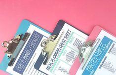 Smart Dollar Tree Kitchen Organization Hacks Organize Kitchen Cabinets, Organize Kitchen, kitchen or Meal Planning Binder, Planning Menu, Meal Planning Printable, Weekly Meal Planner, Dollar Tree Organization, Fridge Organization, Recipe Organization, Organization Hacks, Storage Hacks