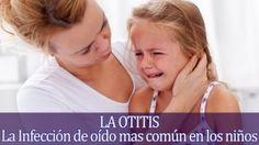 La otitis es una infección en el oído medio de las más comunes produciendo un dolor que el algunos es leve, pero en otros puede provocar un llanto continuo en el niño.