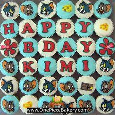 Tom & Jerry cupcake