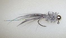 1/16 oz Silver Ghost Crappie Lures, Crappie Jigs, Fishing Rods, Fly Fishing, Pike Flies, Fly Tying, Bass, Hunting, Lord