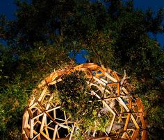 Robby Krieger's Treehouse! ❤️ Hollywood Domes: L.A. Accessorizes With Geodesic Tree Houses | Wired Magazine | Wired.com