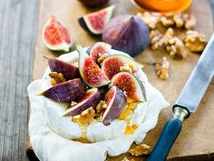 humm figues they are sooo good Fig Recipes, Cooking Recipes, Picnic Recipes, Picnic Foods, Cake Recipes, Kitchen Gourmet, Aperitivos Finger Food, Cheese Platters, Appetisers