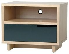 Modu-licious 1 Drawer Nightstand - modern - Nightstands And Bedside Tables - AllModern