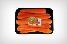 Tray Pack Ellos no manejan zanahorias, pero este es el otro tipo de empaque que manejan.