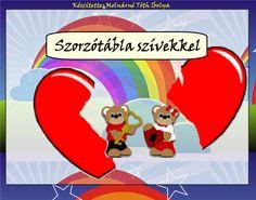 Fotó itt: Szorzótábla szívekkel interaktív tananyag - Google Fotók Family Guy, Google, Photo And Video, School, Fictional Characters, Schools, Griffins