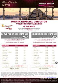 TURQUÍA Circuitos Capadocia / Pamukkale Mayo desde Barcelona. Desde 694€ - http://zocotours.com/turquia-circuitos-capadocia-pamukkale-mayo-desde-barcelona-desde-694e/