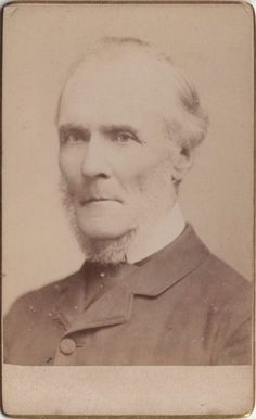 CDV photo of a victorian man taken in St. Johns Wood, London around 1880s by Henry Ashdown (1843 - 1908) at his studio located at Waverley Place.