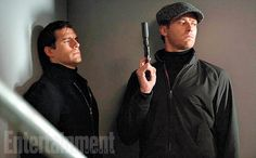 'The Man From U.N.C.L.E.': Spy on Henry Cavill and Armie Hammer in exclusive first-look photos | EW.com