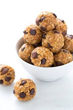 The best Energy Bites! The perfect on the go midday snack. My whole family loves these and I even make them for dessert sometimes!