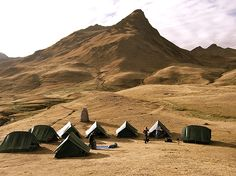 """Becky Blevins, """"Camp our Second Night at High Altitude"""""""