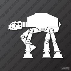 Star Wars Imperial AT-AT Walker Decal by S4SarahsSigns, $4.15