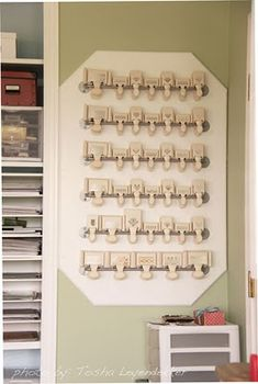 like the idea of NOT attaching all those to the wall--just the board