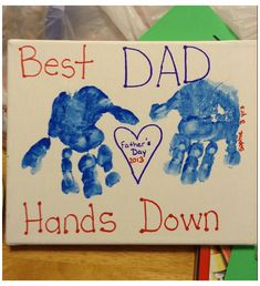 Fathers Day Craft Toddler, Toddler Arts And Crafts, Fathers Day Art, Mothers Day Gifts From Daughter, Mothers Day Crafts, Toddler Gifts, Easy Father's Day Gifts, Homemade Fathers Day Gifts, Diy Gifts