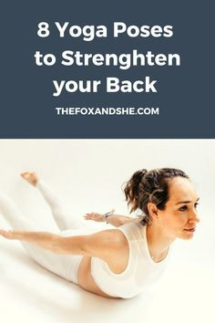 Heart Opening Poses to Strengthen Your Back - Fox At Home Workout Plan, At Home Workouts, Get Healthy, Yoga Poses, Fitness Motivation, Health Fitness, Gym, Exercises, Strength
