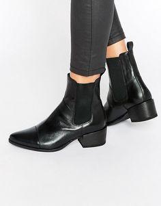 Vagabond | Vagabond Marja Black Western Chelsea Boots