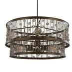 Feiss Colorado Springs 6-Light Chestnut Bronze Single-Tier Chandelier-F3048/6CSTB-LA - The Home Depot