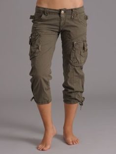 Cargo capri pants - I live for these