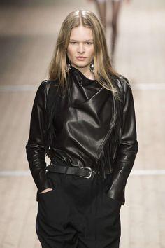 Isabel Marant, Automne/Hiver 2018, Paris, Womenswear Isabel Marant, Skin To Skin, Leather Jacket, Paris, Jackets, Fashion, Fall Winter, Fashion Ideas, Studded Leather Jacket