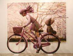 Shintaro Ohata Shintaro Ohata, nacido en Hiroshima crea cuadros acompañados de esculturas.