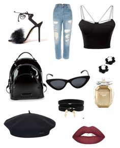 """Untitled #8"" by elena-ghitulescu on Polyvore featuring WithChic, Kendall + Kylie, Le Specs, Element, Oscar de la Renta and Victoria's Secret"