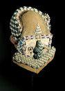 BUSHOONG-KUBA MASKE Kongo, H 34.5 cm  © Galerie Walu - African Art Auctions