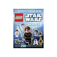 Star Wars Lego Sticker book