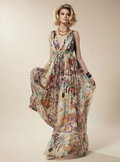 Este vestido es ideal para las tardes de verano en la terraza con los amigos