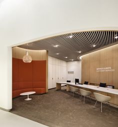 Brandimage and Noé Duchaufour- Lawrance have designed the new Air France business lounge at Paris-Charles de Gaulle airport. This lounge has been conceived as a harmonious pathway, consisting of sections which are con. Air France, Airport Lounge, Office Lounge, Office Reception, Open Office, Lounge Design, Hunter Douglas, Commercial Design, Commercial Interiors