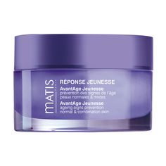 Matis Reponse AvantAge Jeunesse Cream – Normal to Combination: A cream to stimulate the sirtuins (longevity proteins). It limits glycation and oxidation and nourishes the skin to give it comfort. Day after day, the skin structure is reinforced and protected. The elasticity and firmness of the skin are preserved. The overall appearance of the skin is improved and the youthfulness is secured for longer.