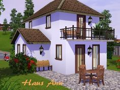 Ann small house by Macroglossum - Sims 3 Downloads CC Caboodle