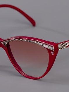 KARL LAGERFELD VINTAGE Cat-Eye Sunglasses