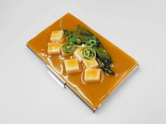 Tofu Miso Soup Business Card Case