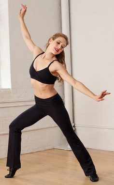 Looking for a new pair of Capezio trousers for your jazz dance class  We  recommend the worn here with a matching Capezio Bra Top 8ffce358c07