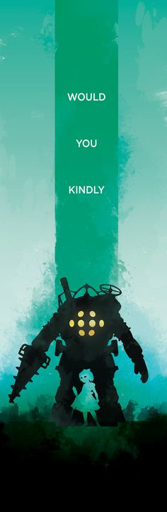 LIMITED Bioshock Inspired Video Game Poster by ThePixelEmpire